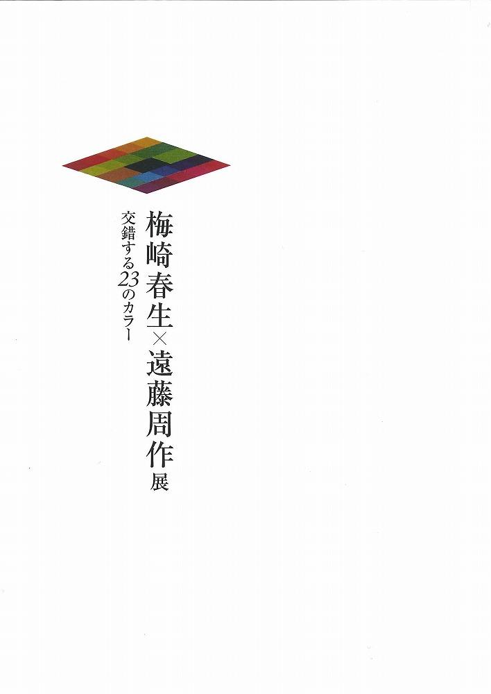 梅崎春生×遠藤周作展 交錯する23のカラー